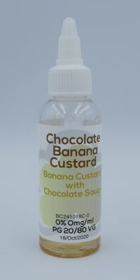 Chocolate Banana Custard 50ml 1
